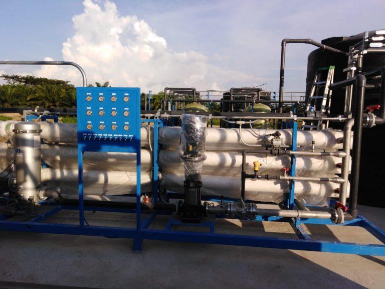 Agua purificada osmosis