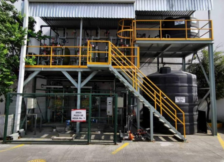 planta Potabilización de Agua de Pozo