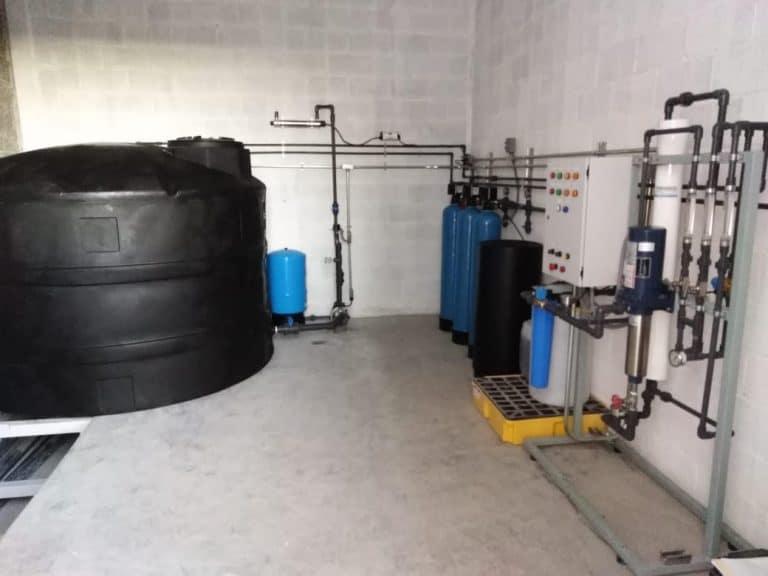 Potabilización de Agua de Pozo