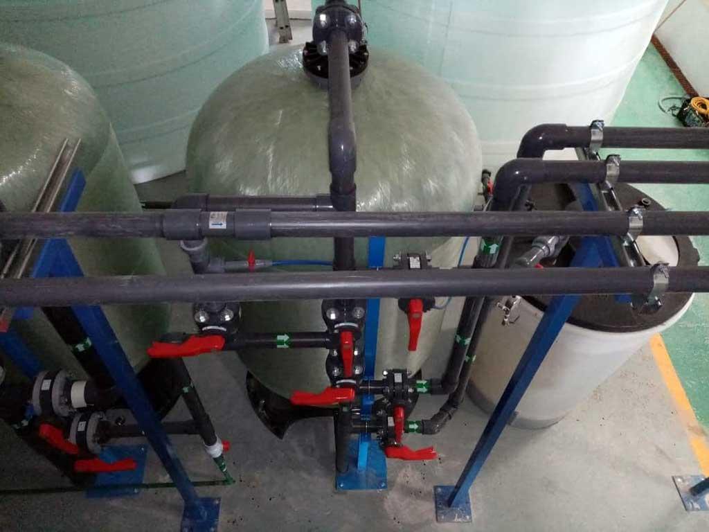 Qué resina usar para un sistema suavizador de agua