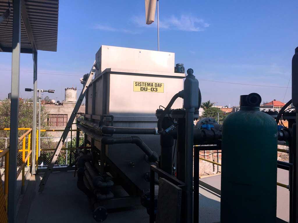 Sistema DAF: qué es y cómo funciona para el tratamiento de aguas residuales